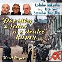 Povídky z jedné a z druhé kapsy - 2 CD (audiokniha)