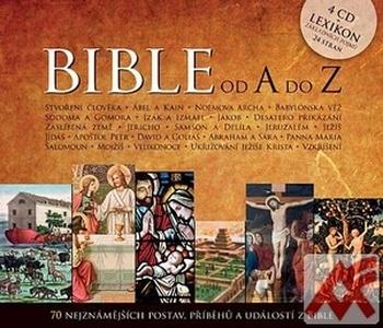 Bible od A do Z - 4 CD (audiokniha)