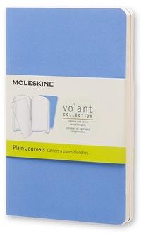 Volant zápisníky 2 ks čisté světle modré S
