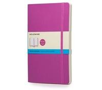 Zápisník, tečkovaný, měkký růžový L