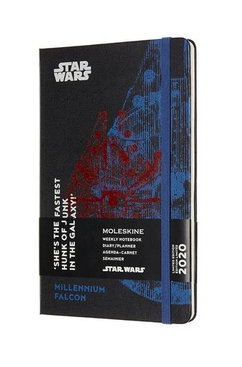 Star Wars plánovací zápisník Moleskine 2020 L
