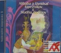 Alibaba štyridsať lúpežníkov / Studňa zlodejov - CD (audiokniha)
