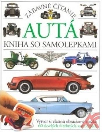 Autá - kniha so samolepkami