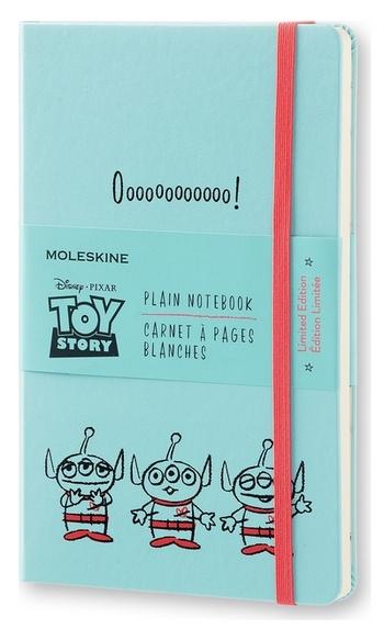 Toy Story zápisník čistý modrý L