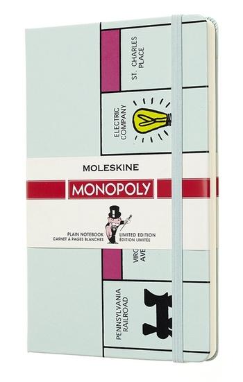 Monopoly zápisník Moleskine čistý Board L