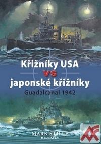 Křižníky USA vs japonské křižníky. Guadalcanal 1942
