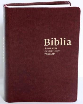 Biblia - slovenský ekumenický preklad s deuterokánonickými knihami (mäkká väzba)