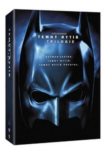 Temný rytíř. Trilogie - 6 DVD