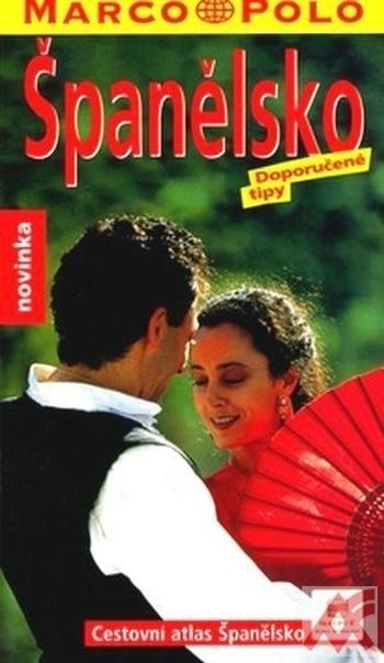Španělsko - Cestovní atlas