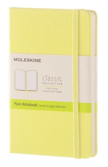 Zápisník tvrdý čistý žlutý S