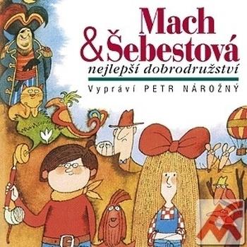 Mach a Šebestová - CD (audiokniha)