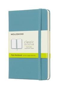 Zápisník Moleskine tvrdý čistý modrozelený S