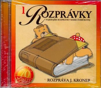 Najkrajšie rozprávky Márie Ďuríčkovej - CD