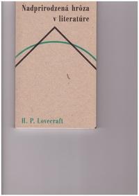 Nadprirodzená hrôza v literatúre