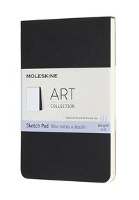 Skicář blok Moleskine černý S