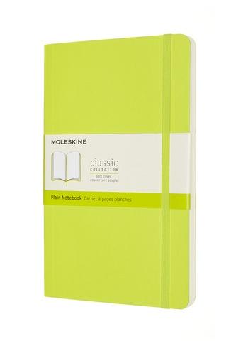 Zápisník Moleskine měkký čistý žlutozelený L