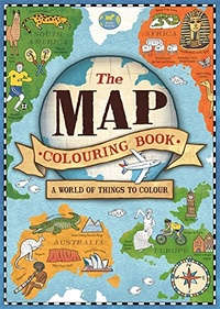 The Map Colouring Book