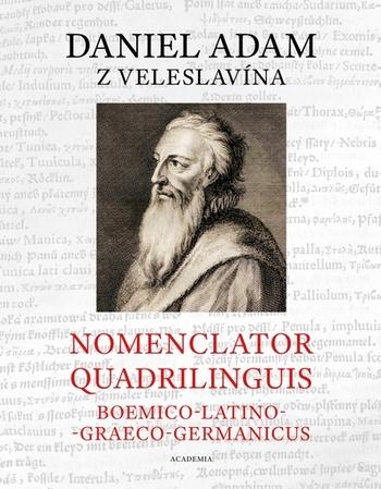 Nomenclator quadrilinguis Boemico-Latino-Graeco-Germanicus + CD