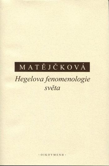 Hegelova fenomenologie světa