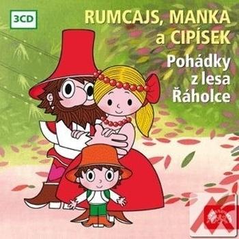 Rumcajs, Manka a Cipísek - 3 CD (audiokniha)