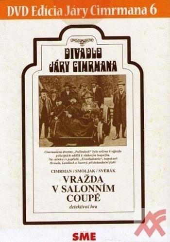 Divadlo Járy Cimrmana 6 - Vražda v salonním coupé - DVD