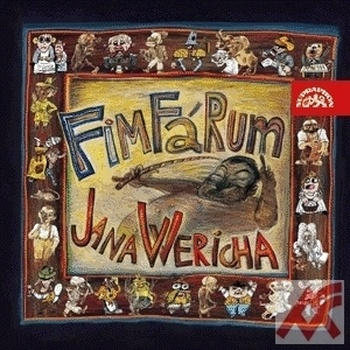 Fimfárum Jana Wericha - 2 CD (audiokniha)