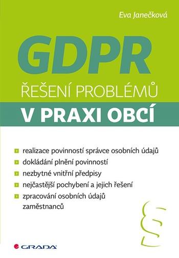 GDPR. Řešení problémů v praxi obcí
