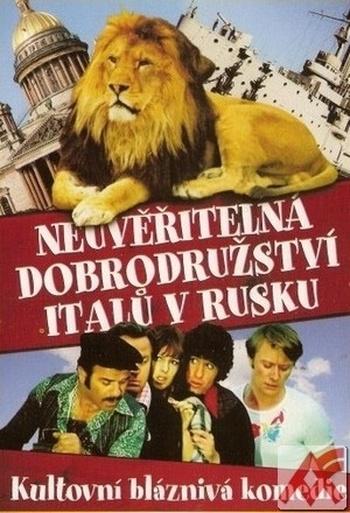 Neuvěřitelná dobrodružství Italů v Rusku - DVD