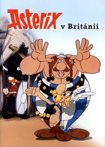 Asterix v Británií - DVD