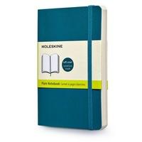 Zápisník, čistý, měkký světle modrý S
