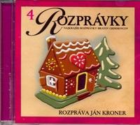 Najkrajšie rozprávky bratov Grimmovcov - CD
