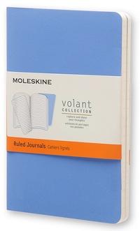 Volant zápisníky 2 ks linkované světle modré S