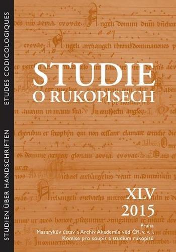 Studie o rukopisech XLV