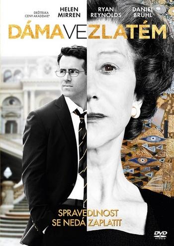 Dáma ve zlatém - DVD