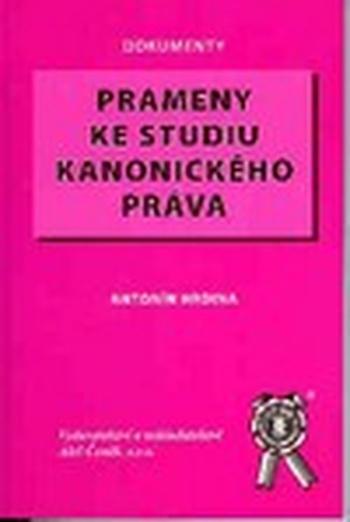 Prameny ke studiu kanonického práva