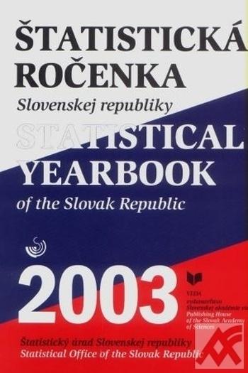 Štatistická ročenka SR 2003 + CD