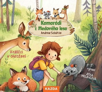 Kamarádi z Medového lesa 2 - CD (audiokniha)