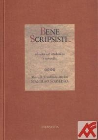 Bene scripsisti...Filosofie od středověku k novověku
