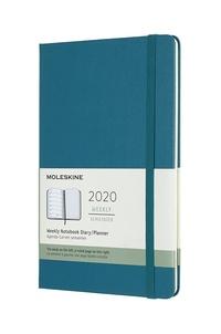 Plánovací zápisník Moleskine 2020 tvrdý zelený L