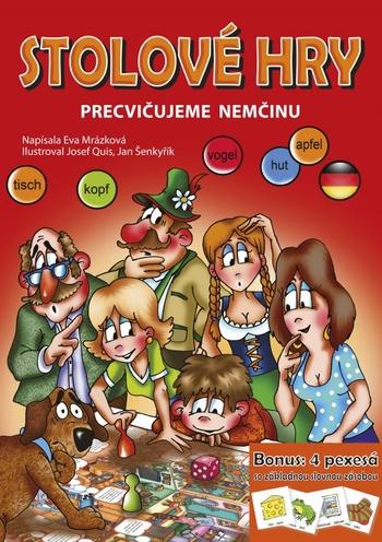 Stolové hry. Precvičujeme nemčinu