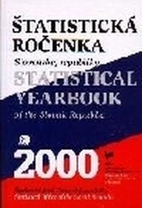 Štatistická ročenka SR 2000 + CD