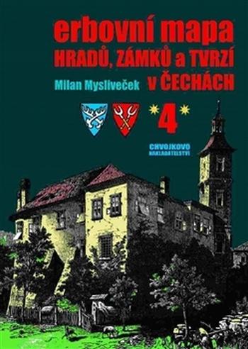 Erbovní mapa hradů, zámků a tvrzí v Čechách 4