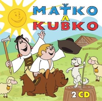 Maťko a Kubko - 2 CD (audiokniha)
