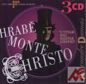 Hrabě Monte Christo - 3 CD (Radioservis)