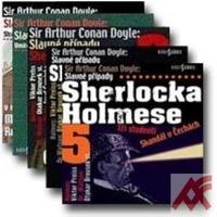 Slavné případy Sherlocka Holmese - sada 5 CD