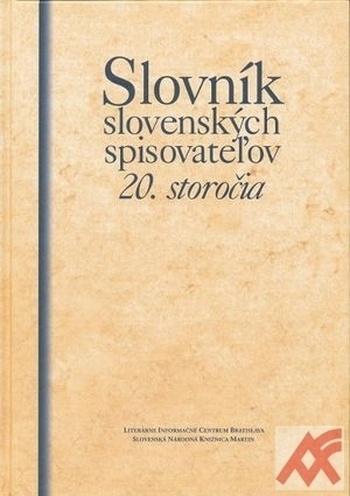 Slovník slovenských spisovateľov 20. storočia