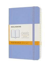 Zápisník Moleskine měkký linkovaný světle modrý S