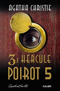 3x Hercule Poirot 5 (české vydanie)