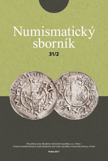 Numismatický sborník 31/2 2019