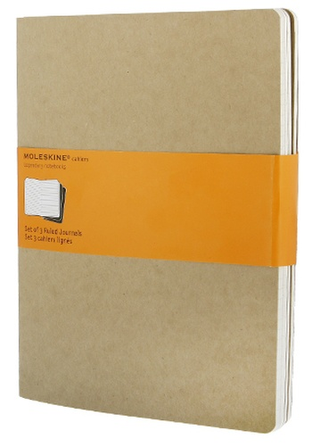 Sešity 3ks, linkovaný, karton XL